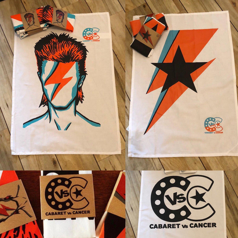 Image of Bowie Tea/Dish Towels! 100% Cotton