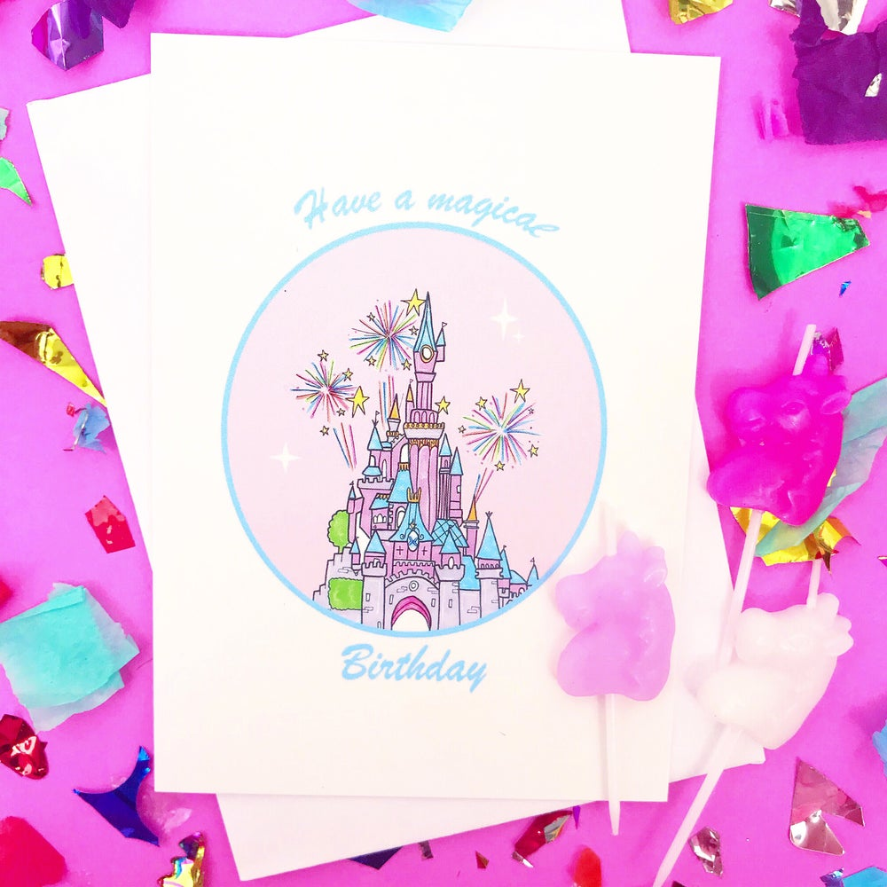 Image of Magical Birthday Card