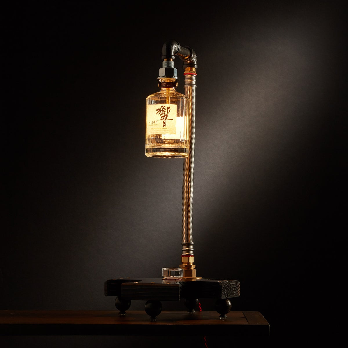 "Image of ""Hibiki II"" Japanese Whiskey Table Lamp"