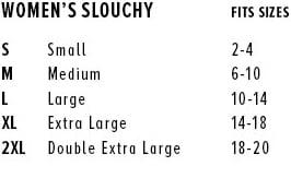 Image of Slouchy V-Neck T-shirt