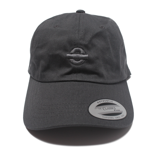 Image of UGORG Classic Dad Hat (Grey with Grey logo)