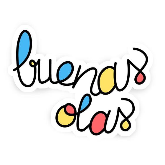 Image of Buenas Olas logo sticker