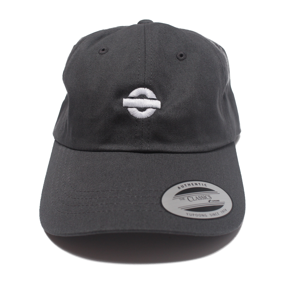 Image of UGORG Classic Dad Hat (Grey with White logo)