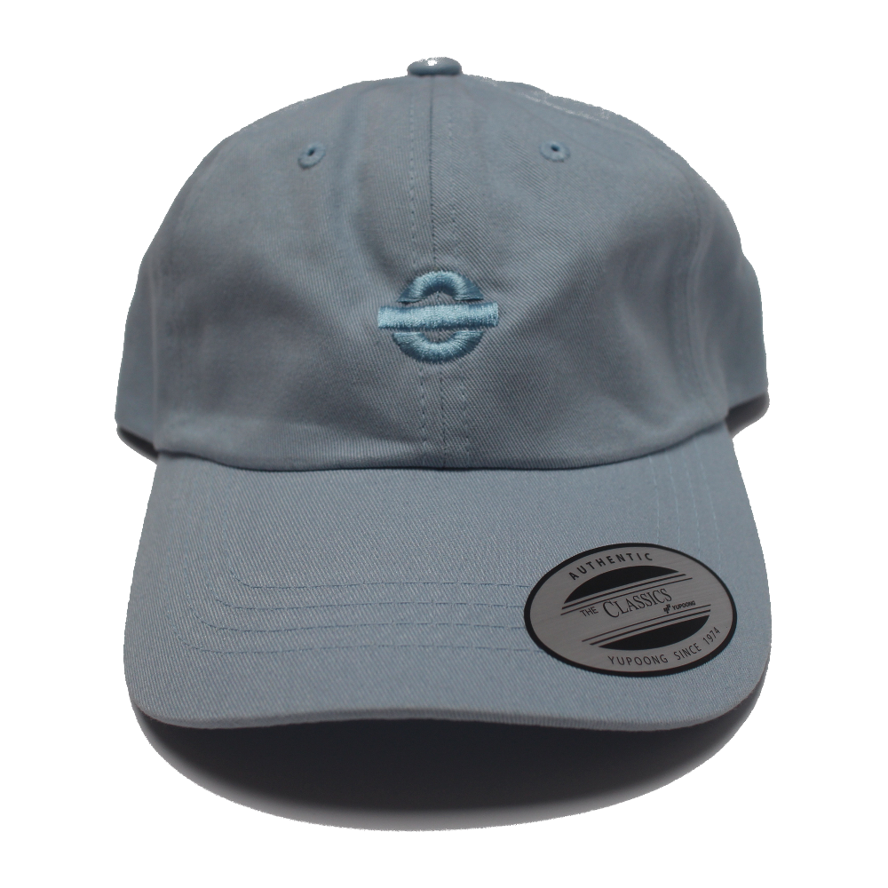 Image of UGORG Classic Dad Hat (Blue with Blue logo)