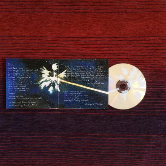 Image of TJO self titled cd inner palm artwork by michelle blade