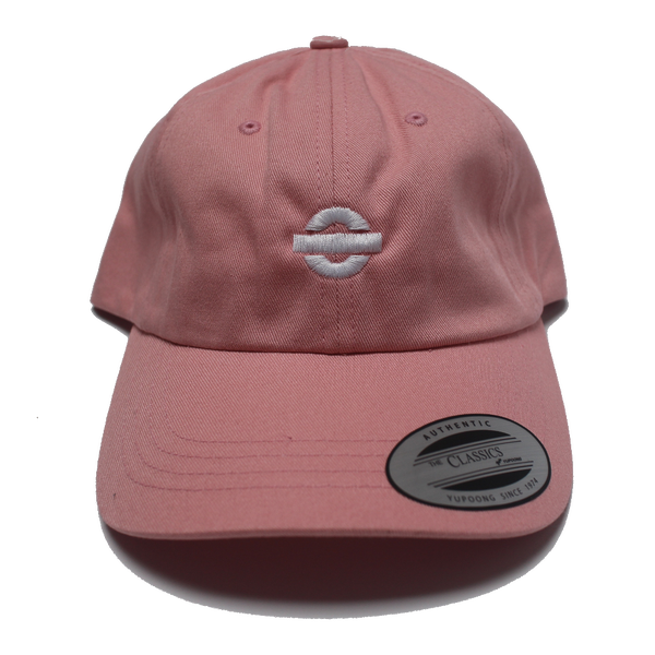 Image of UGORG Classic Dad Hat (Pink with White logo)