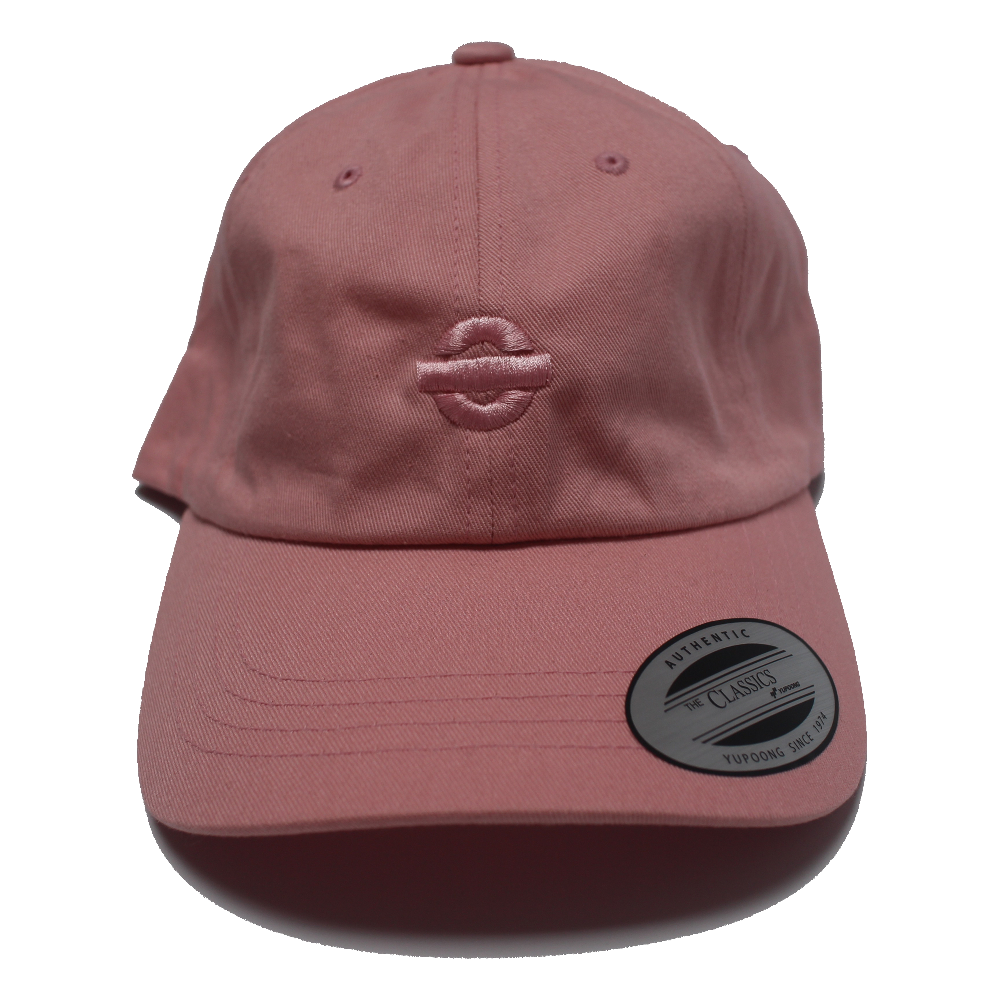 Image of UGORG Classic Dad Hat (Pink with Pink logo)