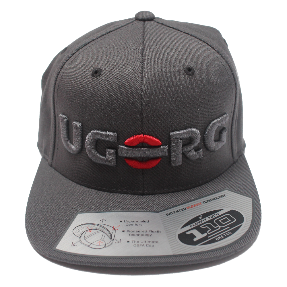 Image of UGORG Flex-Fit SnapBack (Grey with Grey Logo)