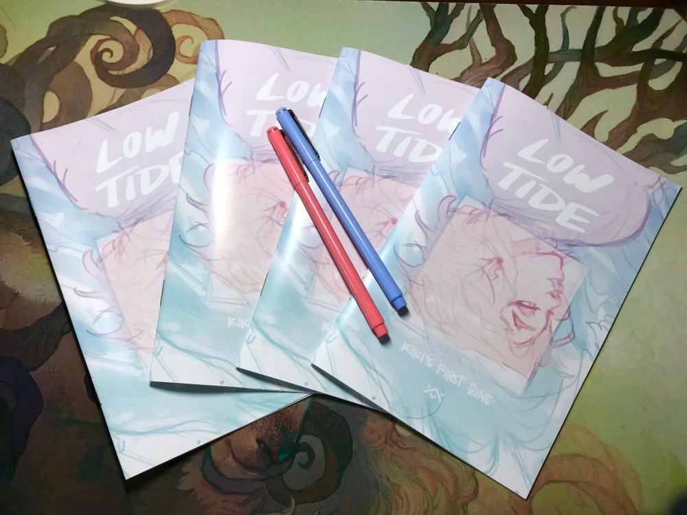 Image of PRE-ORDER: LOW TIDE - Kiki's First Zine + Sticker
