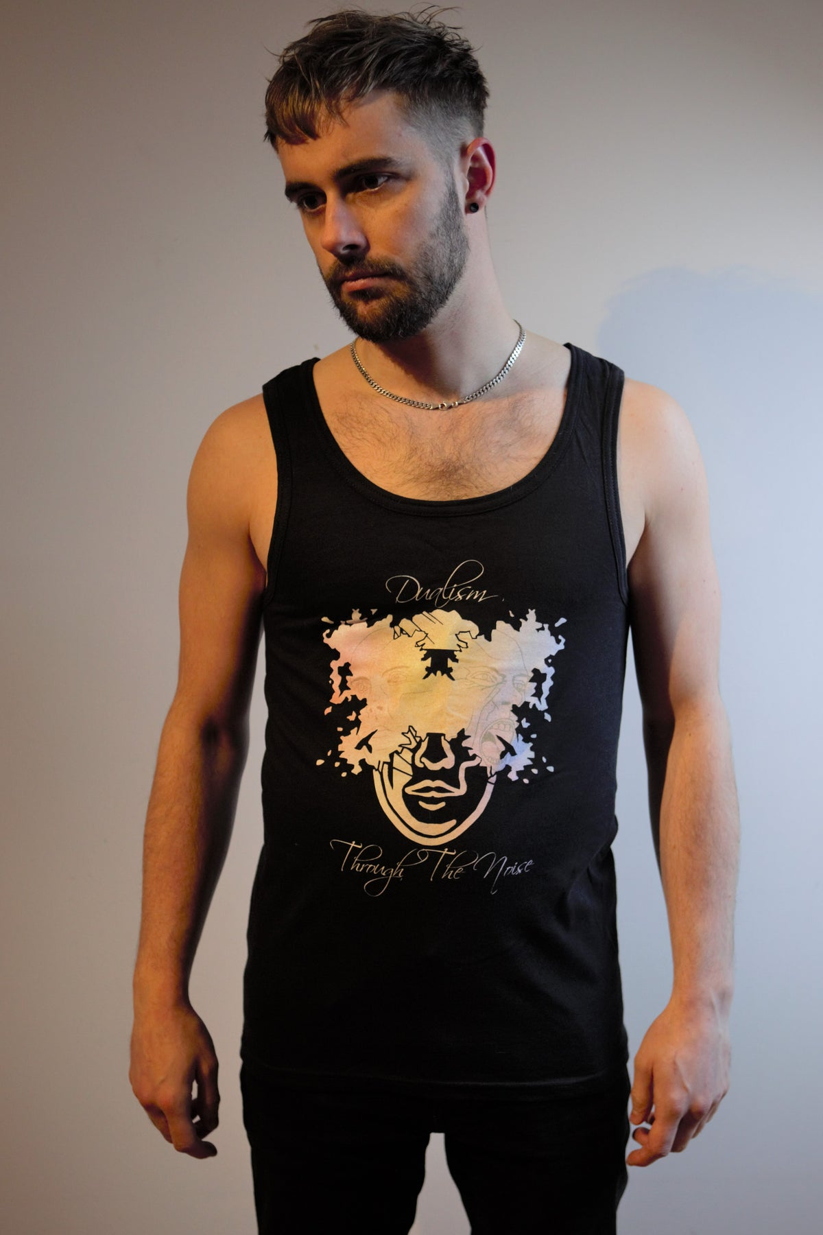 Image of Through The Noise - Dualism Tank top