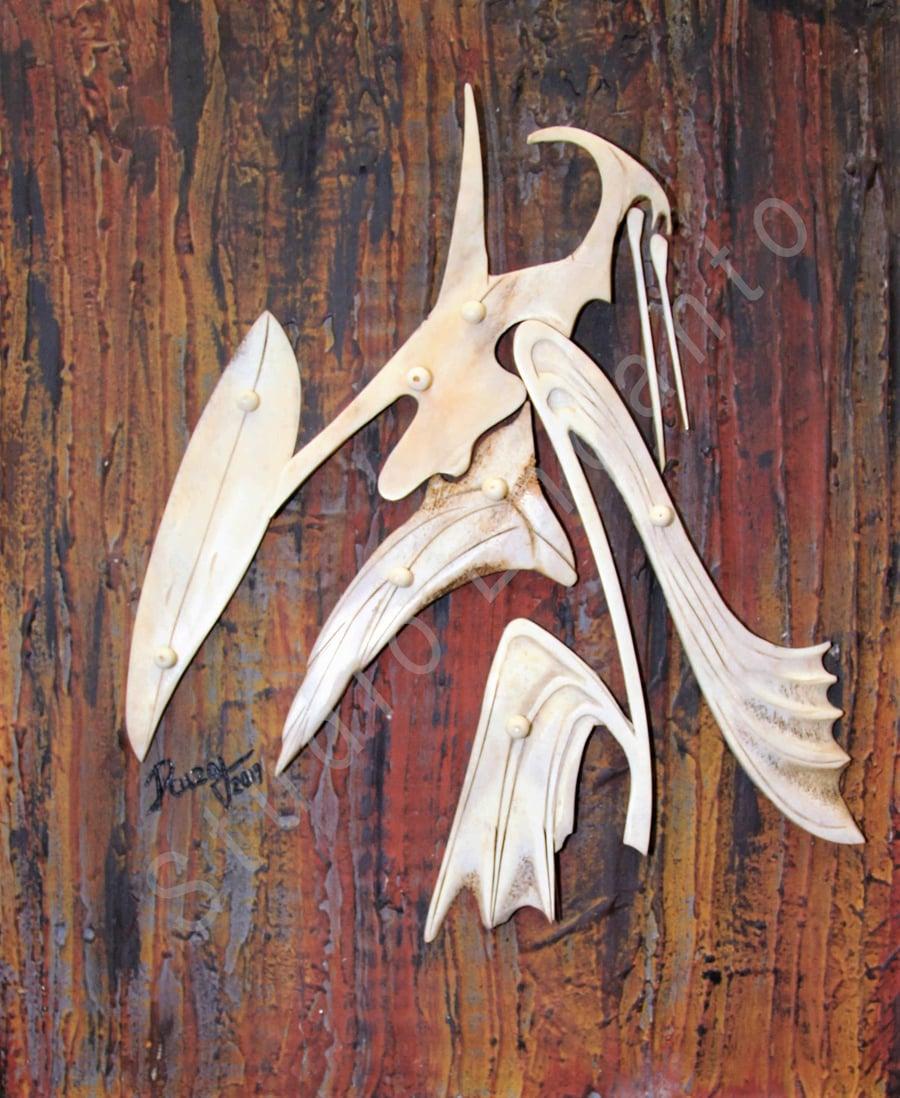 Image of Baibrama - Aboriginal Deity Series by Rafael E. Cuza