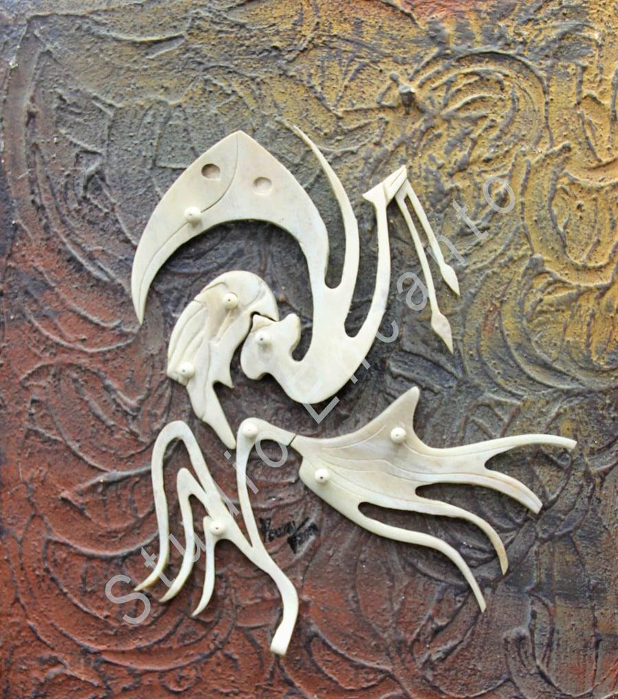 Image of Marohu - Aboriginal Deity Series by Rafael E. Cuza