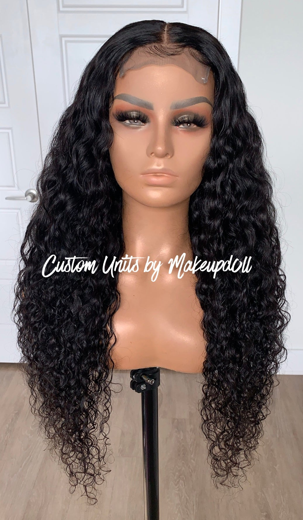 "Image of Cambodian Natural Waves 28"" Lace Closure Wig!"