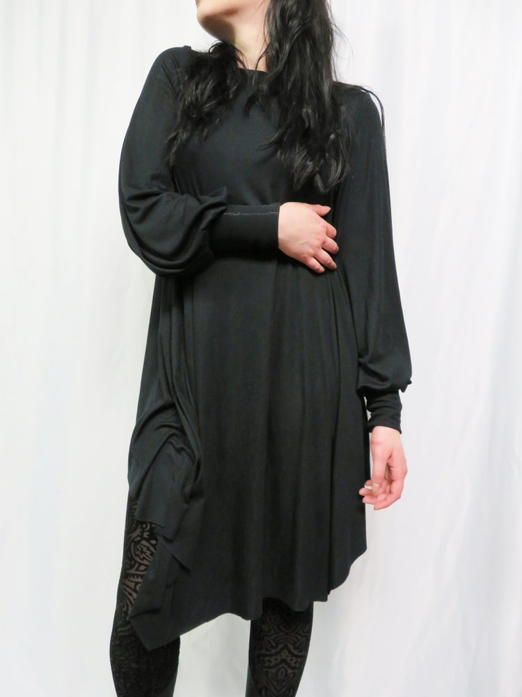 Image of Buttery Modal  Bishop Sleeve Dress