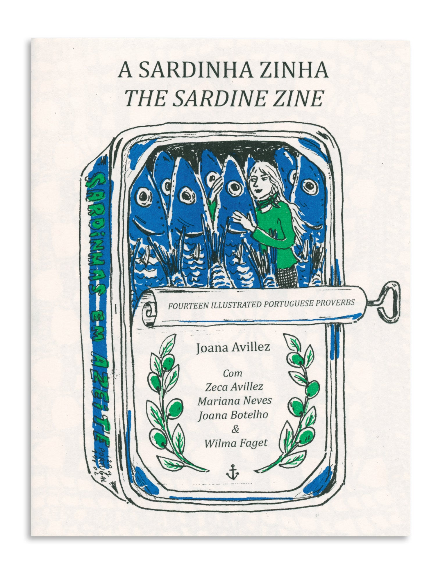 Image of A Sardinha Zinha (The Sardine Zine) by Joana Avillez