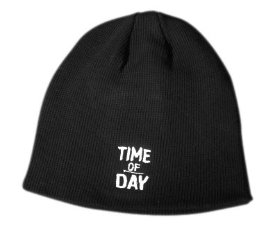 Image of Time of Day Beanie - Black