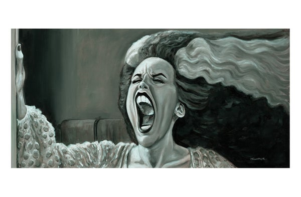 "Image of ""Hissssss!"" Print (inspired by ""Young Frankenstein"")"