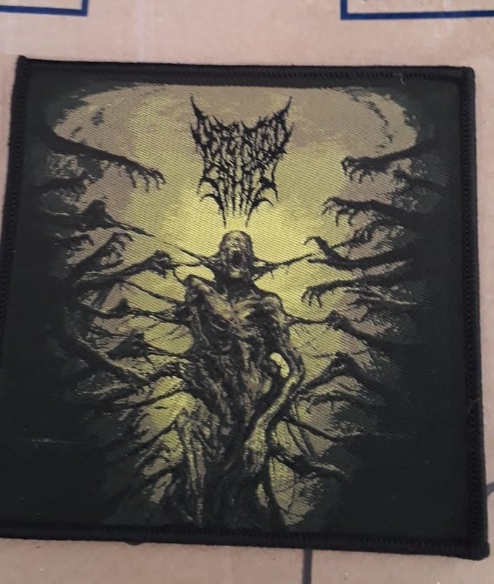 "Image of Patch embroidered ""Passages into Deformity"""