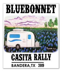 Image of 2019 Bluebonnet Rally Decal