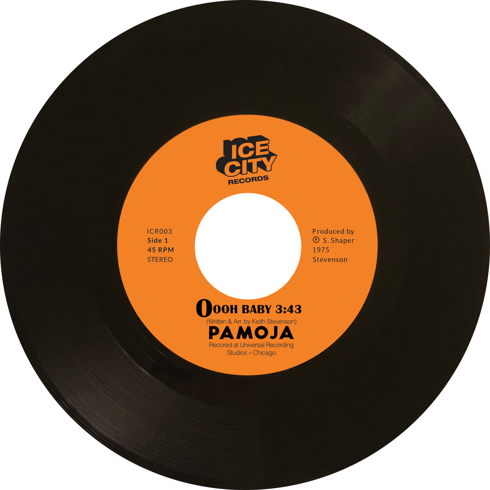 Image of Pamoja - Oooh, Baby / Only The Lonely Know (ICR003)