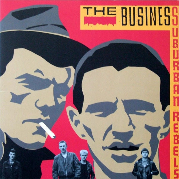Image of The Business - Suburban Rebels LP (IMPORT)