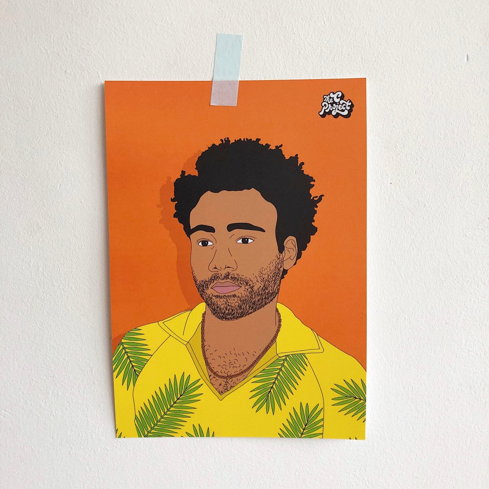 Image of DONALD GLOVER - PRINT