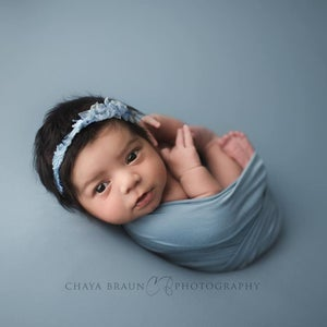 Image of Dusty Blue BabyPlush Wrap