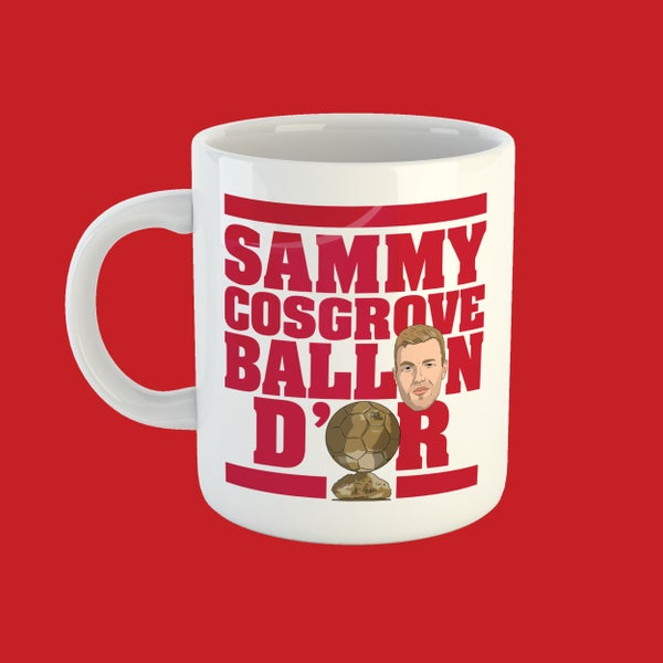 Image of Sammy Cosgrove Ballon d'Or mug