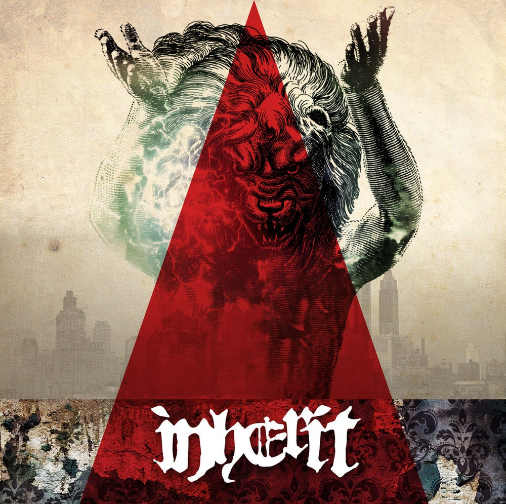 "Image of INHERIT s/t 7"" EP"