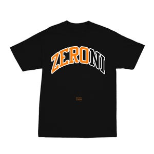 Image of TEAM ZERONI BLACK TEE | CHILDHOOD HERO EXCLUSIVE RELEASE