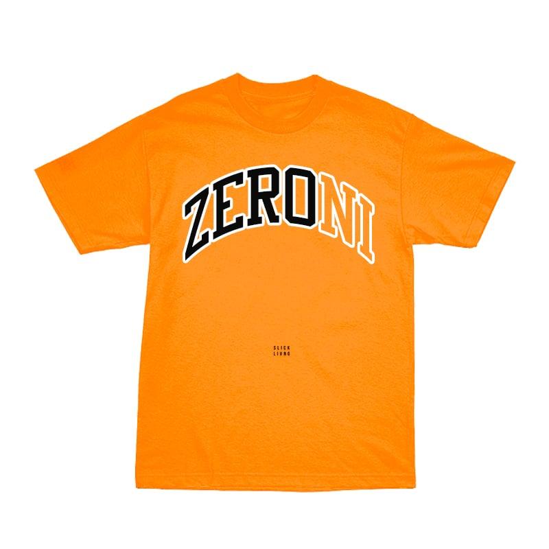Image of TEAM ZERONI ORANGE TEE | CHILDHOOD HERO EXCLUSIVE RELEASE