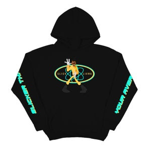 Image of SOLD OUT | SLICK LIVING x POWERLINE HOODIE | CHILDHOOD HERO EXCLUSIVE RELEASE