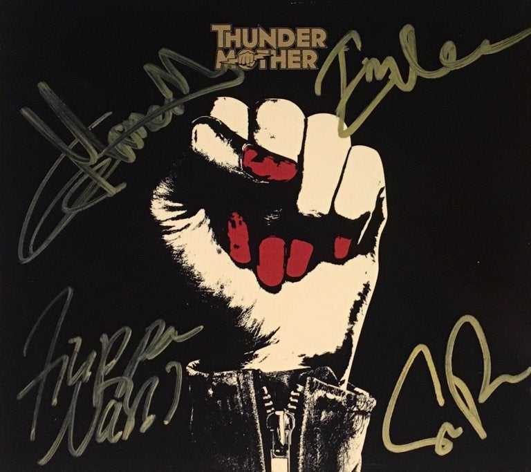 Image of Thundermother - SIGNED Thundermother (Red Vinyl)