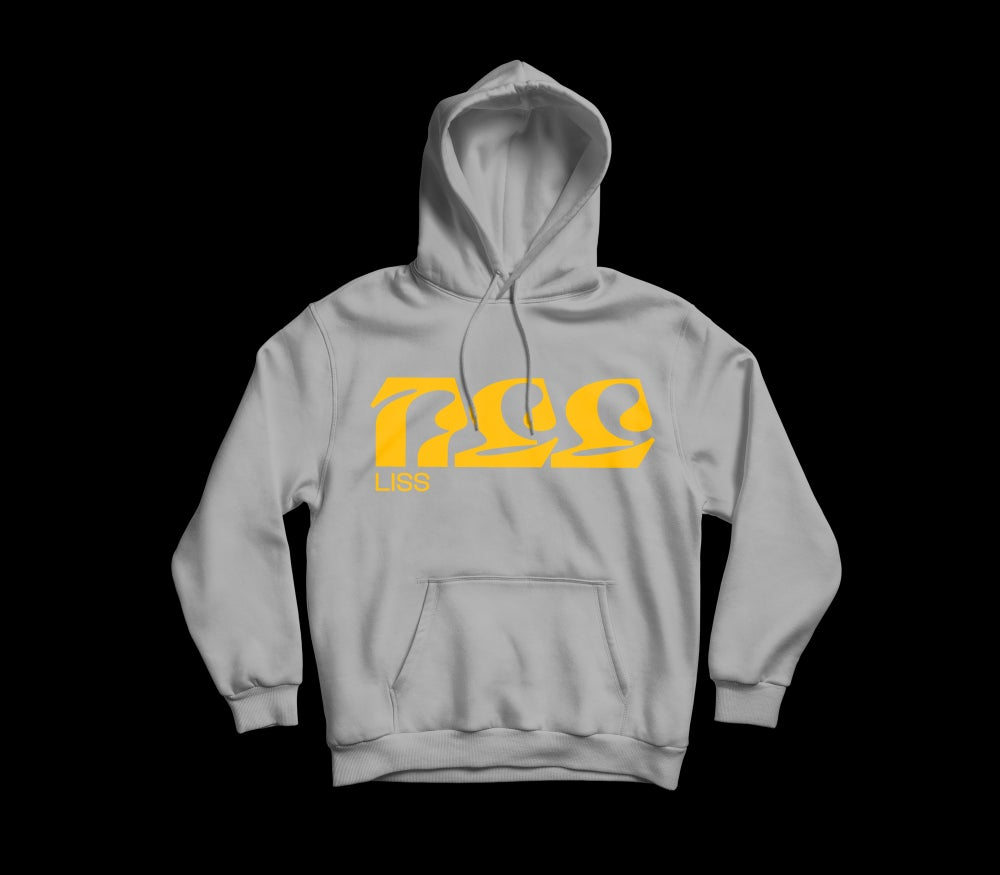 Image of LISS logo hooded sweatshirt