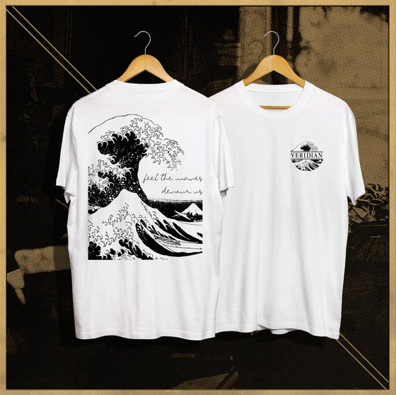 Image of VERIDIAN - WAVES TEE