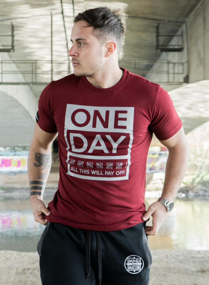 Image of OneDay Shirt | Bordeaux
