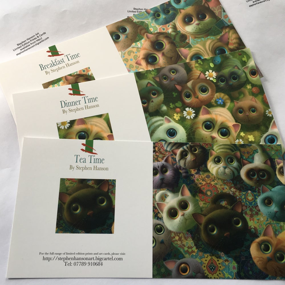 Image of Cats Art Cards
