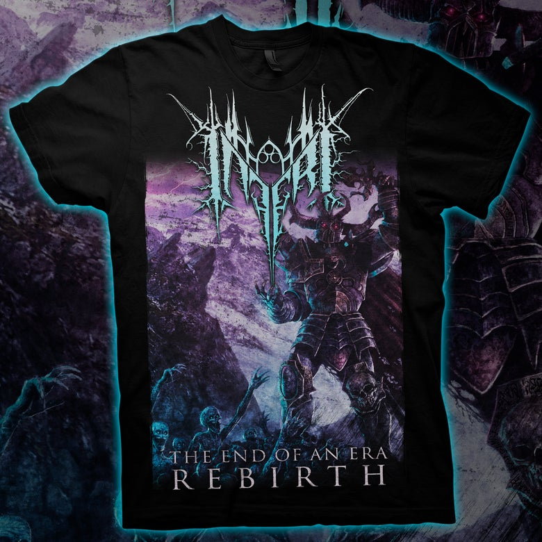 Image of INFERI - The End of an Era | Rebirth T-Shirt