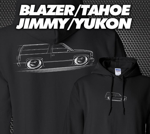 Image of Blazer Tahoe Yukon Jimmy T-Shirts Hoodies Banners