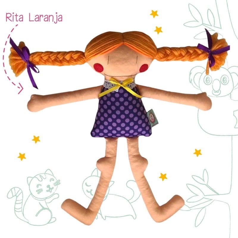 Image of Orange Rita :: Rita Laranja