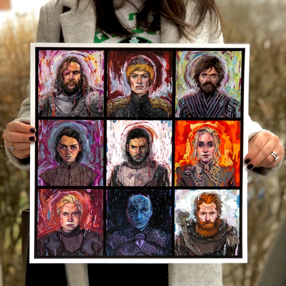 Image of Game of Thrones Group Print