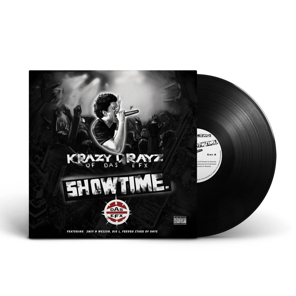 Image of Krazy Drayz of Das EFX - Showtime Vinyl