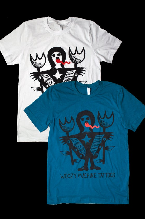 Image of WOOZY MACHINE TATTOOS T-Shirt