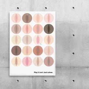 Image of Nude Vulvae Plakat
