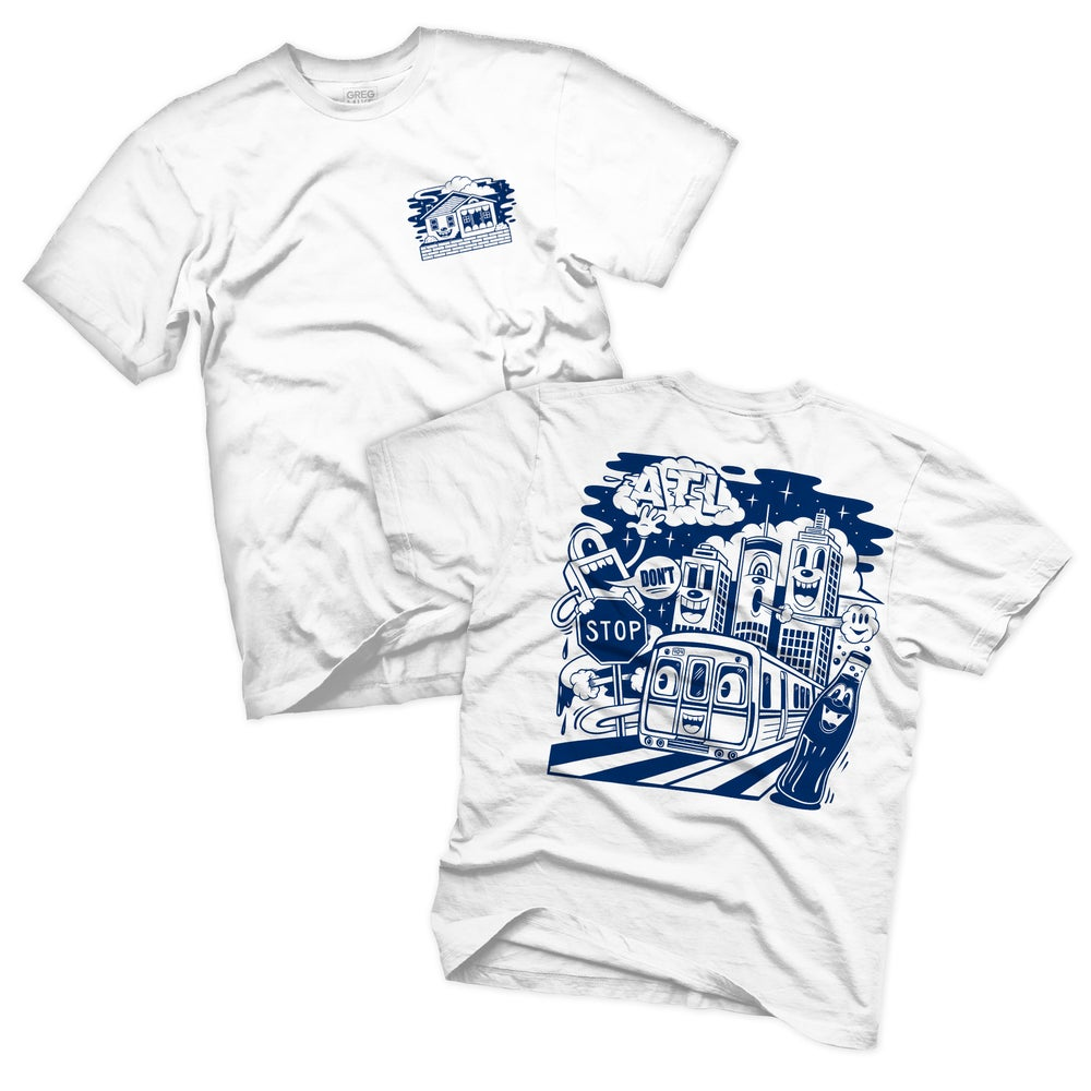 """Image of """"ON THE RISE"""" TEE (NAVY BLUE EDITION)"""