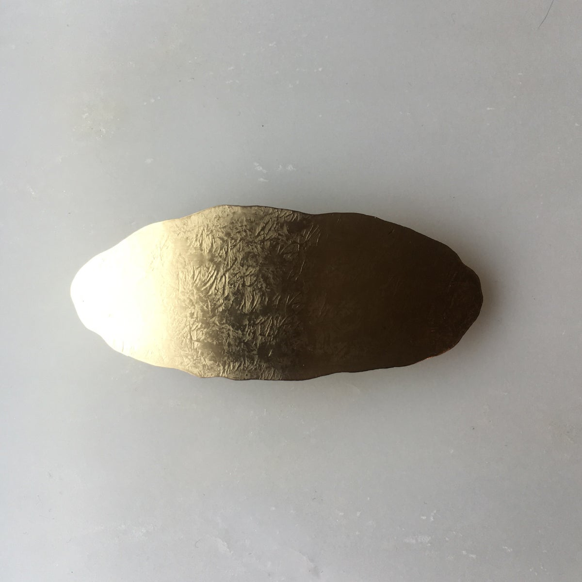 Image of oval barrette