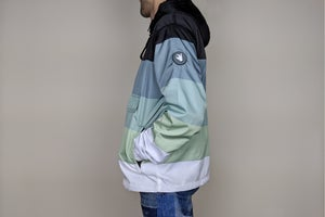 Image of Green Tint Gradient Anorak