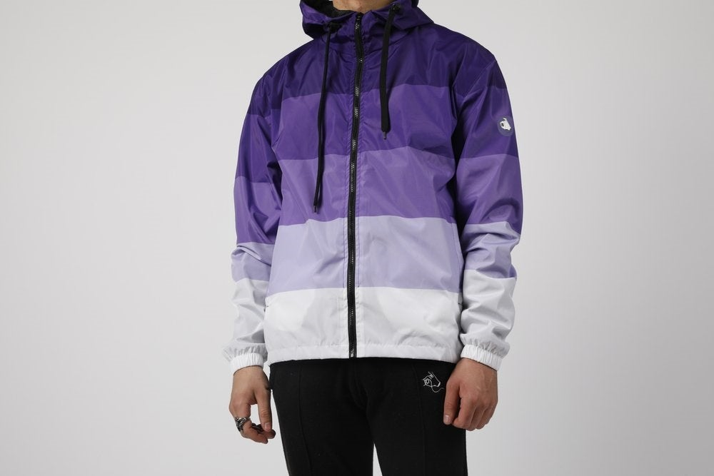 Image of Purple Gradient Windbreaker