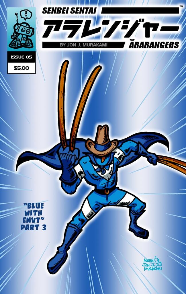 The Ara-Rangers Issue #5