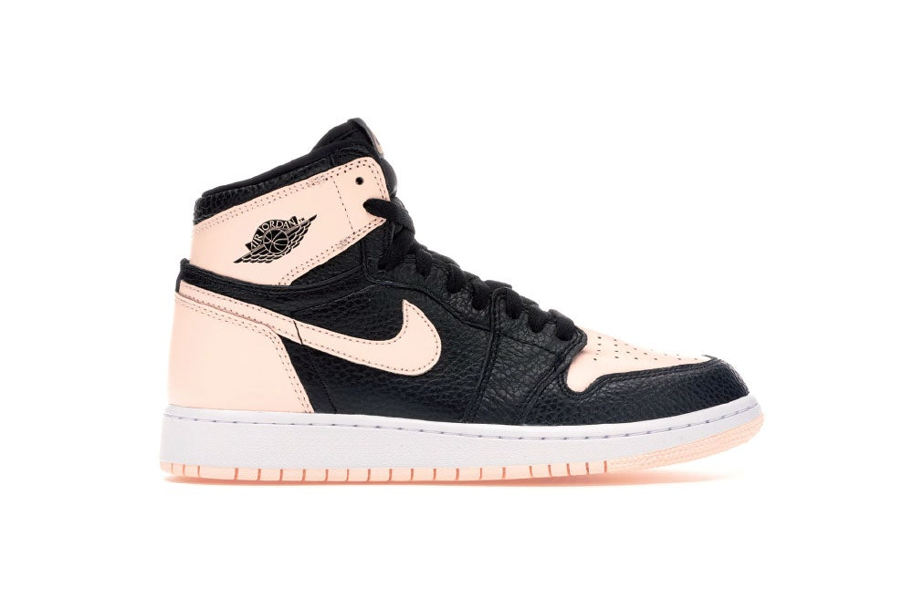 Image of Jordan 1 Retro High [GS] Black Crimson Tint 575441-081